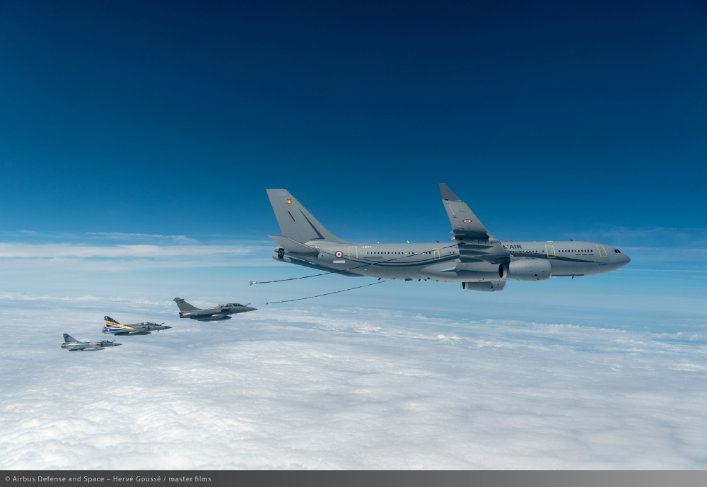 A330 MRTT French Air Force © Airbus Defense and Space - Hervé Goussé/master films
